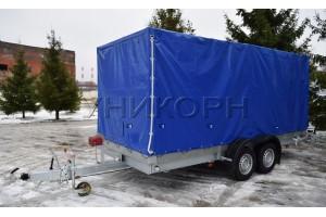 Автомобильный прицеп автовоз 82981А  А3500-СП исп.2 сплошной пол