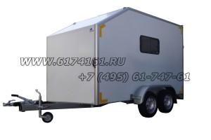 Прицеп-фургон легковой двухосный, модель ИСТОК 3792М4 «Автодом-Мото-2»