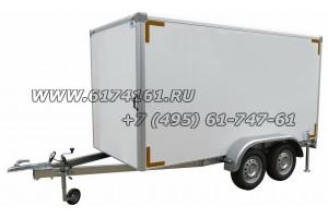 """Прицеп-фургон для бизнеса, модель ИСТОК 3792А4  """"Фермер-2"""""""