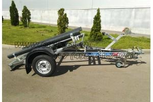 Автомобильный модульный прицеп с ложементами ДОН B3517