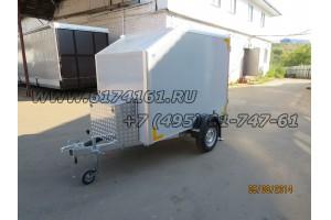Прицеп-фургон легковой многоцелевого назначения «Автодом-Мото», модель ИСТОК 3791М2