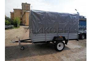 Автомобильный прицеп КРД-050125-50  высокий тент