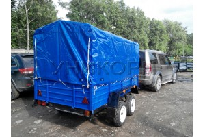 Автомобильный прицеп КРД-050108-50 высокий тент