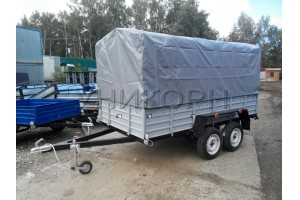 Автомобильный прицеп КРД-050110-50 высокий тент