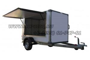 """Прицеп-фургон для бизнеса, модель ИСТОК 3791А2  """"Фермер-1"""""""