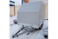 Прицеп с тентом Со скосом (от модели UTV) внутренней высотой 2100 мм