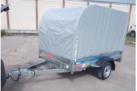 В дополнительной комплектации с каркасом и тентом Н1500 с дугой мм 2 клапана и подкатным колесом (не установлено)