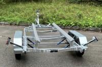 Двухосный лодочный прицеп ЛАВ 81014BB для лодок, длиной до 6,2 м